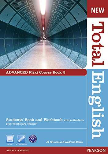 New Total English Advanced Flexi Coursebook 2 Pack