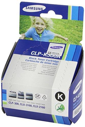 Samsung CLP-K300A/ELS Original Toner (Kompatibel mit: CLP-300/CLX-2160/CLX 3160 Series) schwarz (Samsung Minolta Toner)