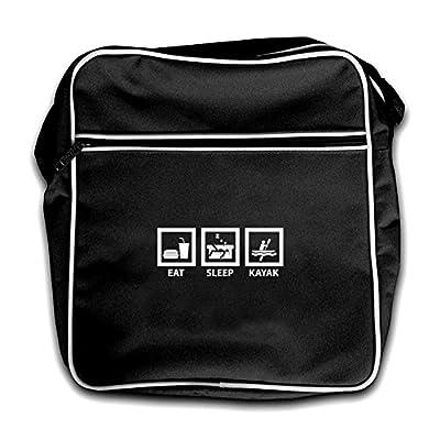 Dressdown Eat Sleep Kayak - Retro Flight Bag - 2 Colours