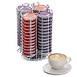 Home Treats Tassimo T-Disc Soporte para cápsula de café Soporte giratorio (Soporte de 56 cápsulas)