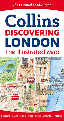 Discovering London Illustrated Map (Maps) por Dominic Beddow