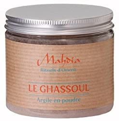 Mahdia rituellen D 'ORIENT-Ghassoul Pulver parfümiert im Geranie-200g