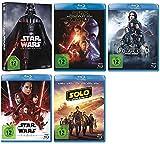 Star Wars Box 1-6 + Erwachen der Macht + Rogue One + Die letzten Jedi + Solo: A Star Wars Story [Blu-ray Set]