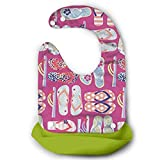 Flip Flops Waterproof Silicone Baby Bibs Easily Wipes Clean Comfortable Soft Baby Bibs Keep Stains Off