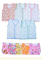 Sathiyas Infant Wear 0-6 Months (Pack of 10)