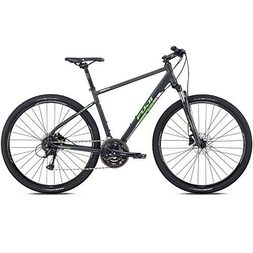 28 Zoll Crossrad MTB Fuji Traverse 1.5 Cross Terrain Mountainbike Tourenrad, Rahmengrösse:48 cm, Farbe:Satin Anthracite