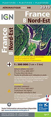 France Nord-Est pelliculée : 1/500 000 par  (Reliure inconnue - Mar 21, 2019)