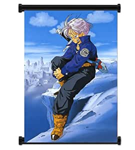Dragon Ball Z Anime Trunks Fabric Wall Scroll Poster (32x42) Inches