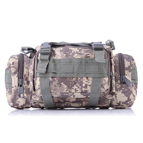 LF&F Backpack Camouflage multifunktionale militärische Fans Freizeitsportarten taktische Taschen Schulterkameras Rucksäcke Angriffspakete taktische Operationen Rucksacktaschen J