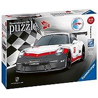 Ravensburger-11147-Porsche-911-GT3-Cup Ravensburger 3D Puzzle 11147 – Porsche 911 GT3 Cup – 108 Teile -