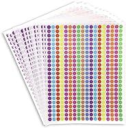 Juvale Color Coding Sticker Dots (7452 Count) 0.35 Inch, 10 Colors