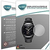 Slabo 2 x Bildschirmschutzfolie für Samsung Gear S2 Bildschirmschutz Schutzfolie Folie No Reflexion | Keine Reflektion MATT