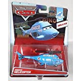 Disney Pixar Cars Deluxe Oversized Die-Cast Vehicle, Dinoco Helicopter