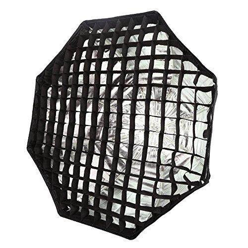 Godox Lichtwanne, achteckige Softbox mit Honigwaben-Design,120cm, Schirm-Softbox