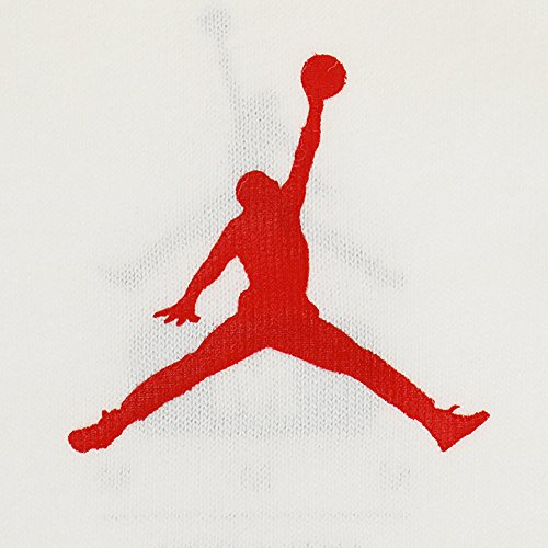 Air Jordan stelle e strisce, uomo White/Fire Red