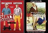 Creepy Inappropriate No Good Grandpa's: Dirty Grandpa (Unrated) & Bad Grandpa 2-DVD Double Grandpa Feature Bundle