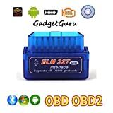 #10: GadgetGuru Super mini elm327 bluetooth OBD2 OBD II Scanner ELM 327 Bluetooth Smart Car Diagnostic Interface