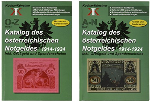 (Katalog des österreichischen Notgeldes 1914-1924, 2 Bände)