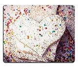 luxlady Gaming Mousepad Bild-ID: 25250034Kekse strewed von Puderzucker und Multicolor Dekorationen