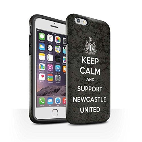 Officiel Newcastle United FC Coque / Brillant Robuste Antichoc Etui pour Apple iPhone 6 / Pack 7pcs Design / NUFC Keep Calm Collection Soutien