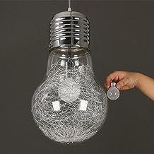 Lampadari da camera da letto moderno for Lampada a lampadina