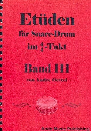 Etüden für Snare Drum im 4/4-Takt Band 3