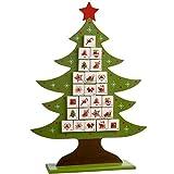 WeRChristmas Decoración para árbol de Navidad Calendario de - Best Reviews Guide