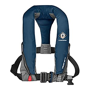 51Xr5i1AdjL. SS300  - Crewsaver Boating and Sailing - Crewfit 165N Sport Automatic With Harness LifeCoat Jacket Coat Navy - Unisex