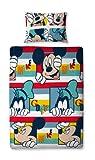 Mercury Mickey Mouse Funda Nórdica, Poliéster, Azul, 135x200x9 cm