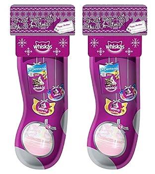 Pochette de Noël Whiskas - Friandises + Jouet pour chat 1 x Whiskas Cat Stocking