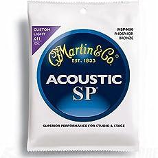 Martin SP Studio Performance Phosphor Bronze Acoustic Guitar StringsMSP4050 11-52