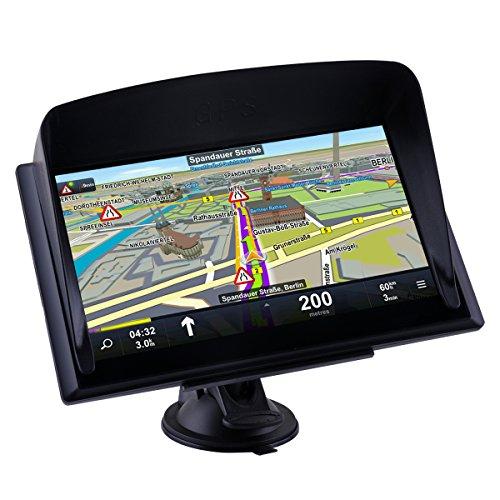 Navigationsgerät 15cm (7 Zoll) Display für LKW und WOHNMOBIL ,lebenslange Kartenupdates(2017 - Version)