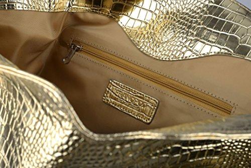 melkco, Borsa tote donna Gold