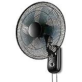 AJZGF Ventilador de Pared, Ventilador de Pared silencioso para Escritorio, Ventilador de Cabezal de Sacudida Industrial. (Color : Mechanical, Tamaño : 16 Inches)