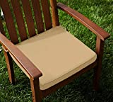 Lushomes Cotton Sand Chair Pads with 4 S...