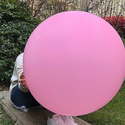 36 Zoll Riese Ballons groß Runden Latex Ballon für Festival/ Geburtstag/ Hochzeit Party