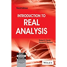 INTRODUCTION TO REAL ANALYSIS, 3RD EDITION