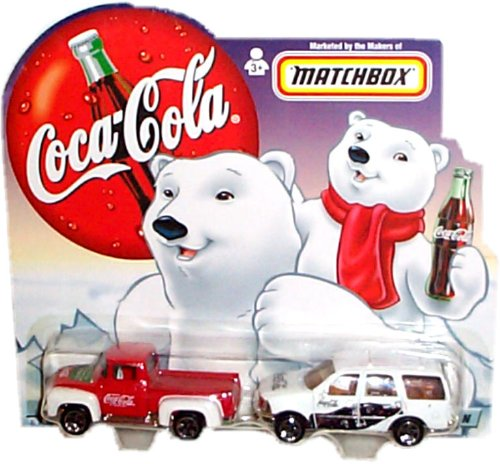 matchbox-coca-cola-brand-father-son-2-vehicle-set-dads-1956-ford-pickup-and-sons-1998-ford-expeditio