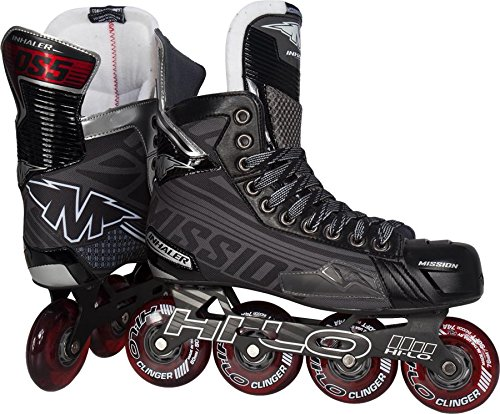 Bauer Inhalator DS: 5Junior Roller Hockey Skates (2014) (Inhalatoren 5)