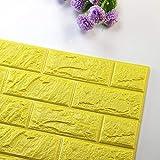 Gleecare Wandaufkleber 3D dreidimensionale Wand Aufkleber selbstklebenden Schaumstoff Sticker wasserdichte wandziegelstein Wandsticker