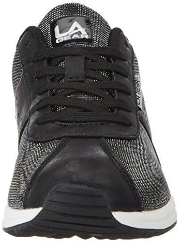 L.A. Gear Monterey, chaussons d'intérieur femme Schwarz (Black)