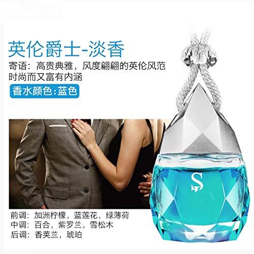 Auto Parfüm Anhänger Deodorant Auto Parfüm hängen langlebiges leichtes Räucherauto mit Duft geräuchert ätherisches Öl Pendant Herr -