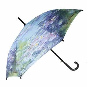Parapluie Droit pour Femme Art & Peinture Claude Monet - Nymphéas