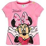 Minnie Mouse Kollektion 2018 T-Shirt 56 62 68 74 80 86 92 Shirt Maus Disney (Rosa, 80-86)