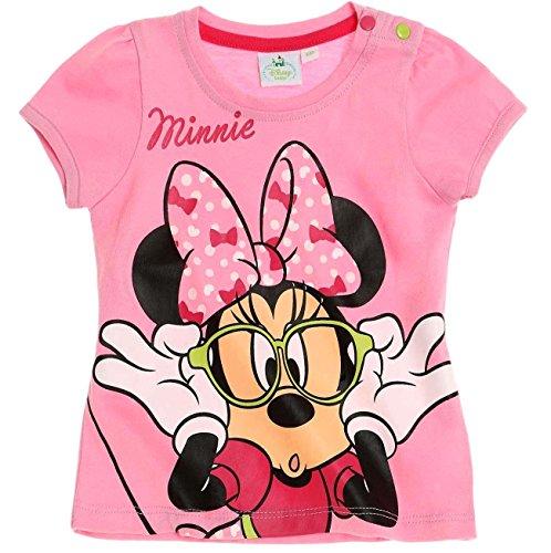 Minnie Mouse Kollektion 2018 T-Shirt 56 62 68 74 80 86 92 Shirt Maus Disney (Rosa, 74-80)