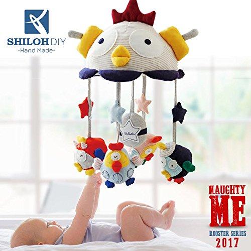 Shiloh DIY Baby Musical Mobile 2017Gallo culla giocattolo Mama Realizzato a mano (Unfinished)