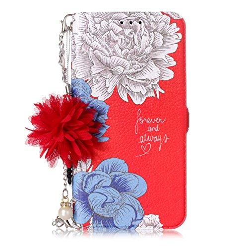 Qkldm Coque Samsung Galaxy S9 2018 Cas Portefeuille Téléphone Stand Couverture avec Slots Carte de Crédit Flip étui de Protection pour Samsung Galaxy S9 2018 (* / 106) (4) par  Qkldm