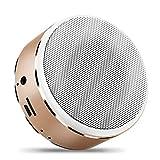 LIUJJ Bluetooth Speaker Mini Audio Card Touch Screen Portable Subwoofer Aluminum Speaker