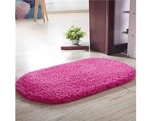 Mengjie Bad absorbierende Unterlage, Wohnzimmer, Schlafzimmer, Baby-Krabbeldecke, 80 * 160cm, lila