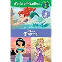 World of Reading: Disney Princess Set (World of Reading: Level 1)